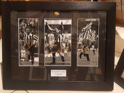 Newcastle Legends Signed Photographs