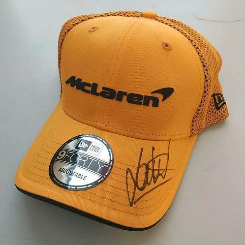 Lando Norris Signed Hat