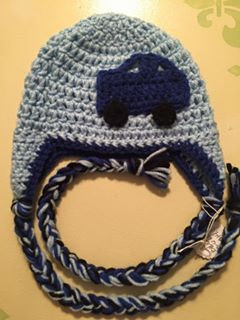 Blue Car Hat