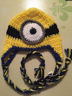"""Minion"" Inspired Hat"
