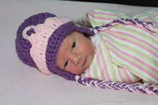 Purple and Pink Princess Hat