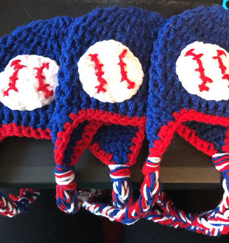 Red and Blue Baseball Hat