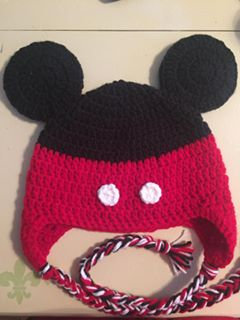 Red Mouse Hat