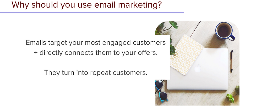 Target your best customers with authentic email marketing