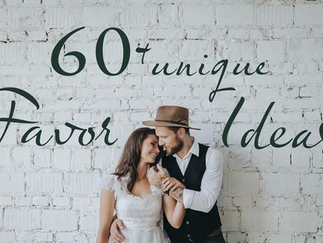 60+ Unique Wedding Favor Ideas Your Guests Will Actually Adore