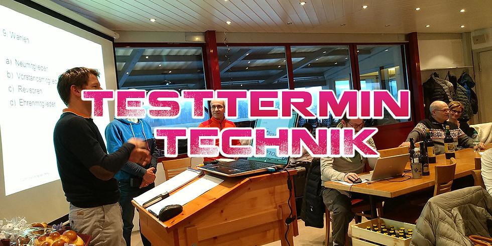 Technik Test Meeting