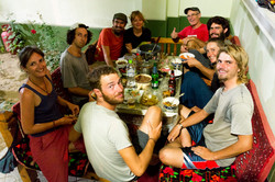 Communal-Cyclist-Dinner