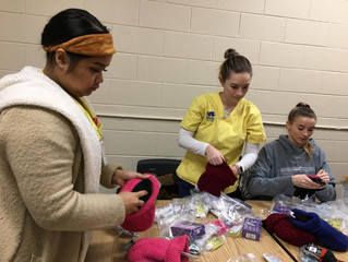 Hygienic Products for Homeless Women