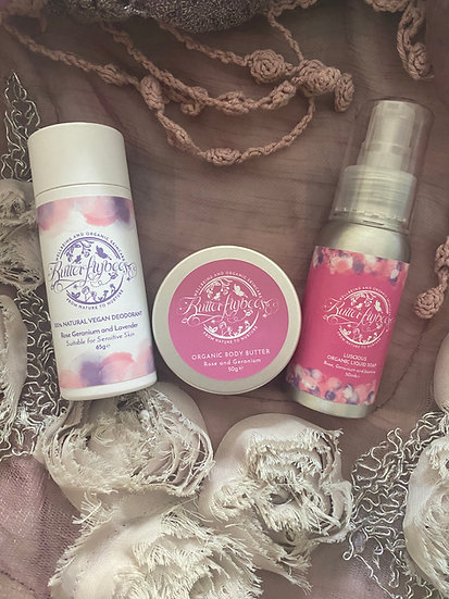 Rose Body Butter Small Gift Set