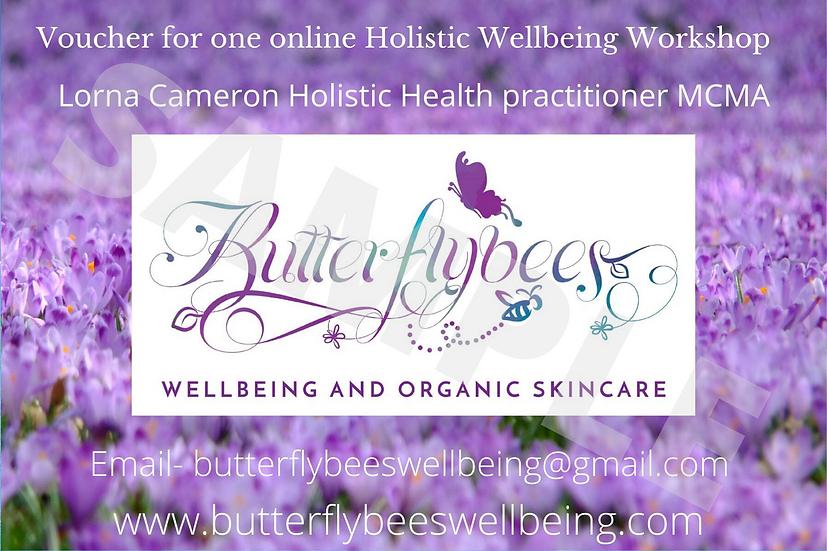 Holistic Wellbeing Workshop Voucher