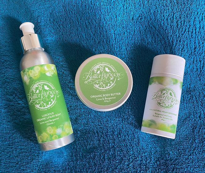 Lime & Bergamot Large Gift Set