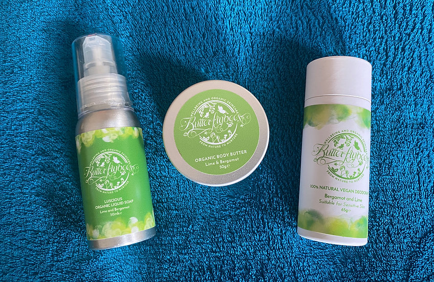 Lime & Bergamot Small Gift Set