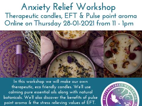 Anxiety Relief Workshop Jan 2021
