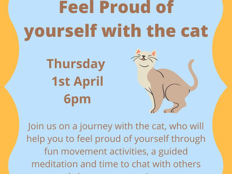 Feel Proud of Yourself with the Cat - presented by Melanie