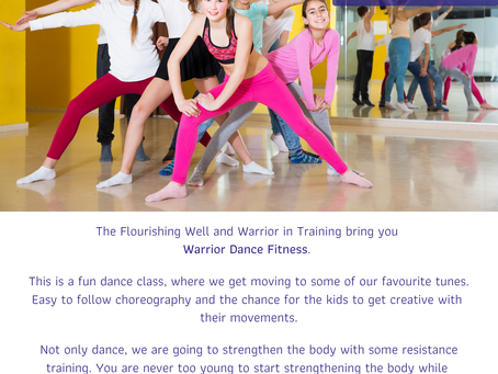Warrior Dance Exercise Class with Ceza