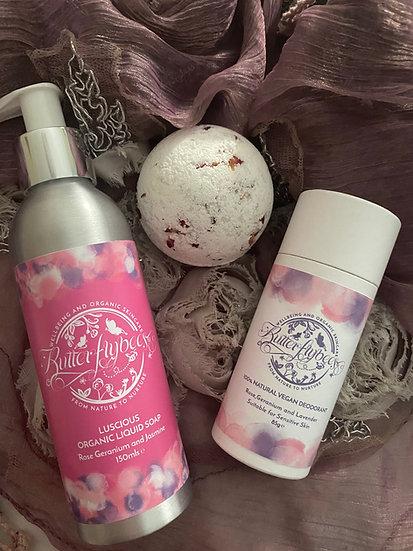 Rose Bath Bomb Large Gift Set