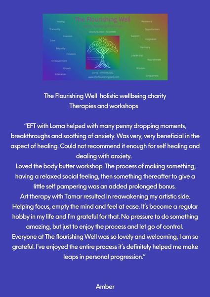 The Flourishing Well Workshops + Healing