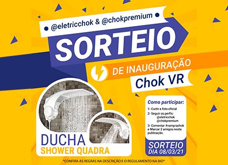 Sorteio de Inauguração Chok Eletric Volta Redonda!