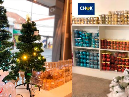 Iluminação Decorativa de Natal na Chok Eletric!