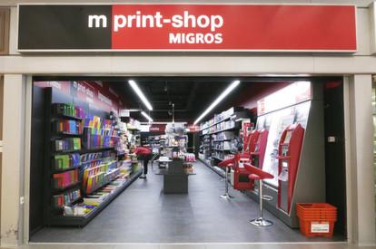 Mprint-shop migros Nyon La Combe