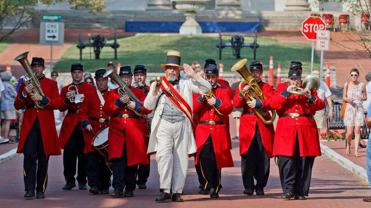 Cornets and Cannons parade.jpg