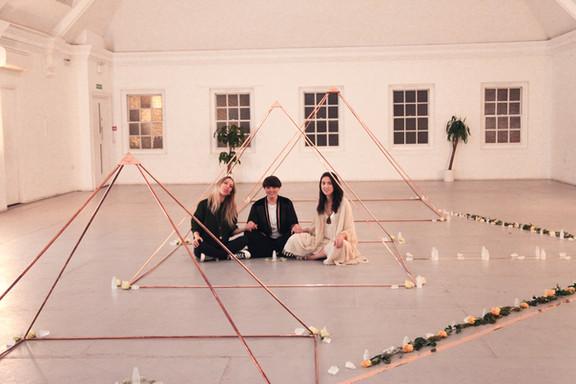 Nicola, Jill and Katie