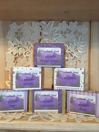 Lavender Botanical Soap Bar
