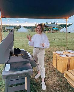 Awning BBQ Camp Hox