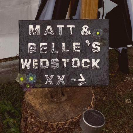 matt & belle's wedding