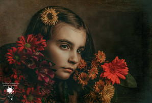 Flowery earthy tones