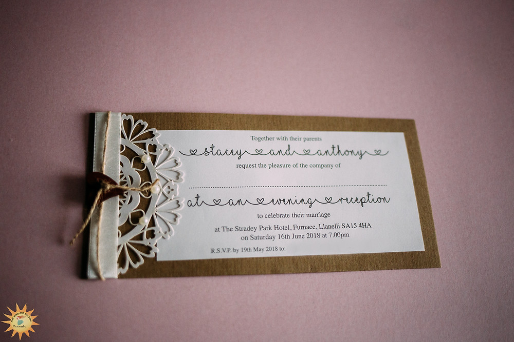Sarah Louise Designs llanelli  wedding stationery