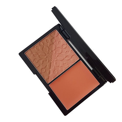 Powder & Crème Blush - Sunkissed Apricots & Cream