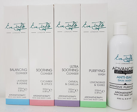 Eve Taylor Aromatherapy Skin Care Cleansers