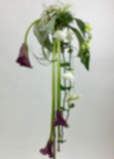 Composizione floreale cale