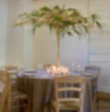 Allestimento scenogafico tavolo cerimonia