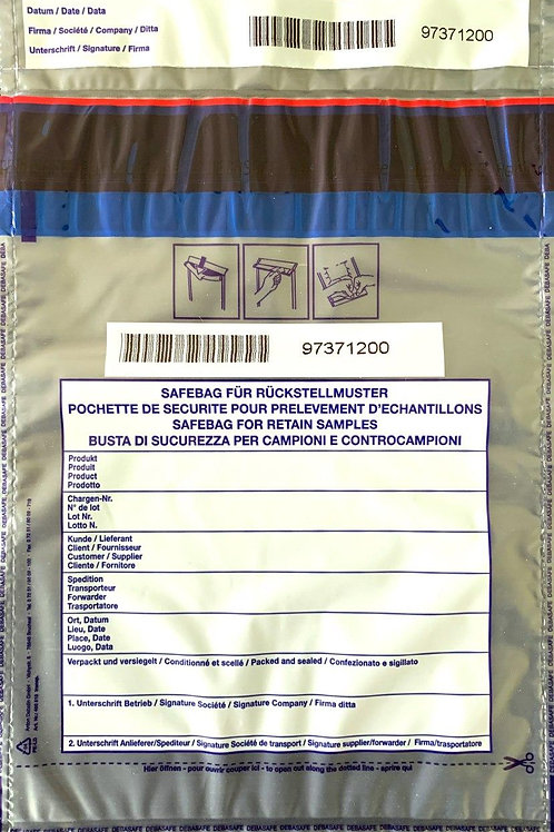 SafeBag, 195 x 265 + 30 (Bon), 50μ, transparent, 500 Stück
