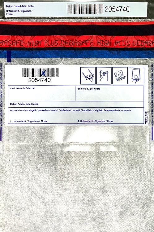 SafeBag, 195 x 265 + 20 (Bon), 70μ, trans. + Fleece, 500 Stück