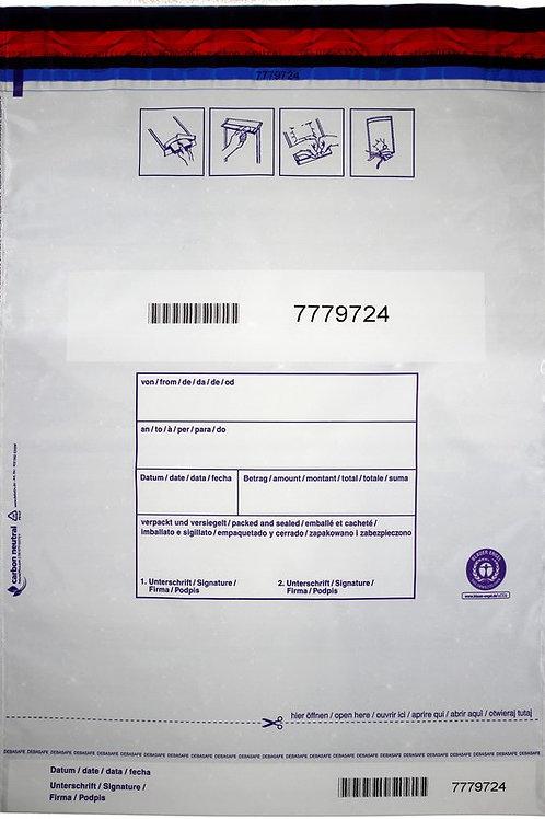 SafeBag, 295 x 395 + 30 (Bon), 50μ, lichtdicht, 500 Stück