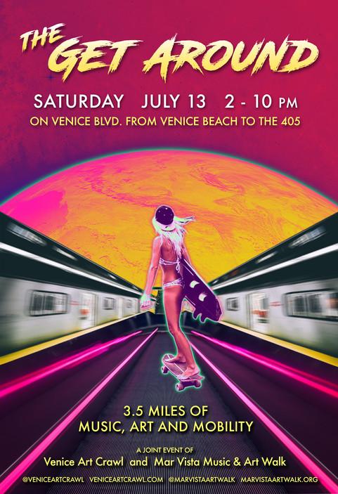 High Grass is a headliner at the Mar Vista ArtWalk Festival!