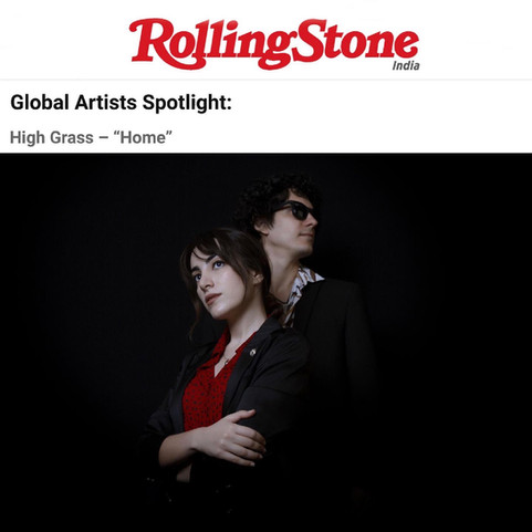 High Grass featured in Rolling Stone India!