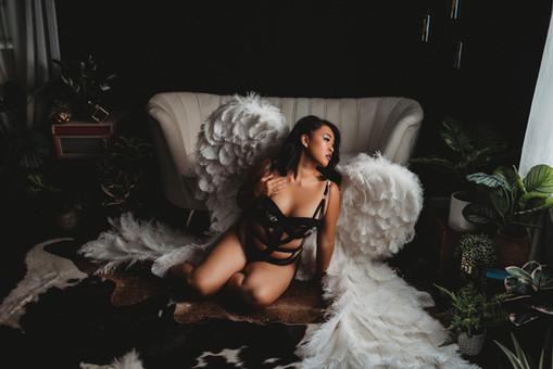 angel wings boudoir Cleveland Ohio