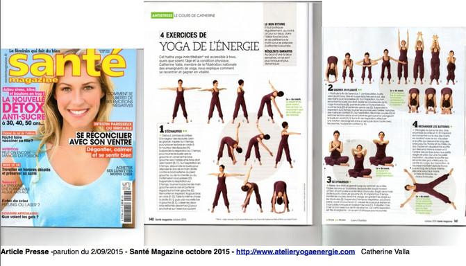 Parution Dans Santé Magazine