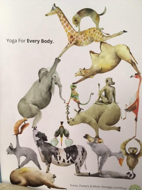 Bien sûr, Que le yoga de l'énergie est fait pour tous les corps ✨dans le respect du schéma corpo