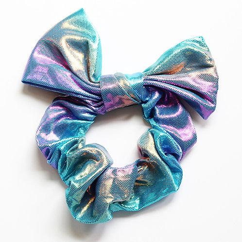 Blue Mermaid Bow