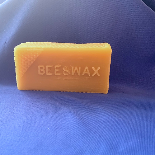 100% Beeswax Block (Half Pound)