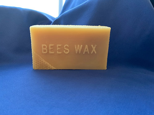 100% Beeswax Block (One pound)