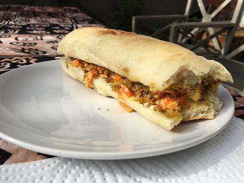 Ras Masala - Veg Sandwich