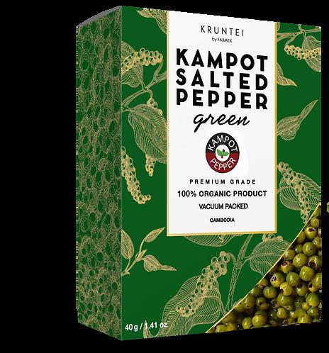 Кампотский зеленый перец соленый