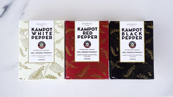 Сет из 4 видов перцев (4 упаковки по 40 г)