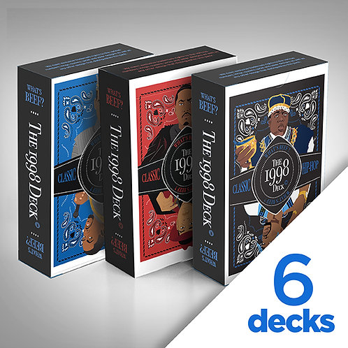 6 Decks-What's Beef?-1/2 a Brick
